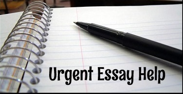 urgent essay help Fast essay writing service will make your life easier with urgent essay help each student faces a problem with the last-minute task deadline is near, but you didn't prepare an assignment, in addition, you are among those who study english as a.